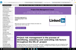 Managing project risk and uncertainty better to improve outcomes BusinessRiskTV.com