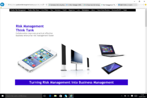 Learn more about our Risk Management Think Tank
