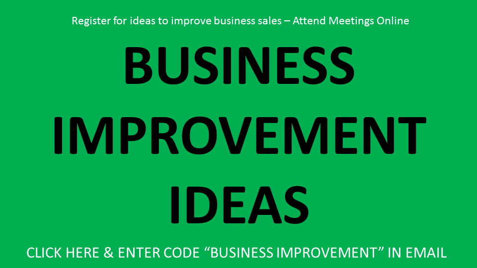 Small Business Improvement Ideas