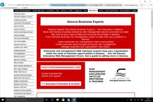 Geneva Business Management Experts BusinessRiskTV.com