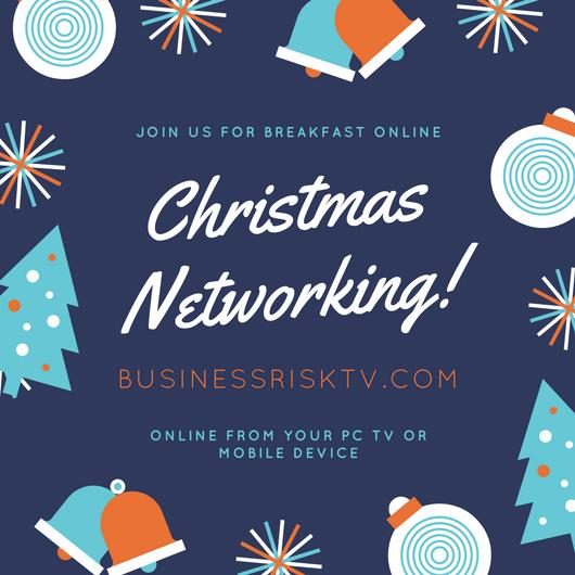 Christmas Business Networking Breakfast Club Meetings Online
