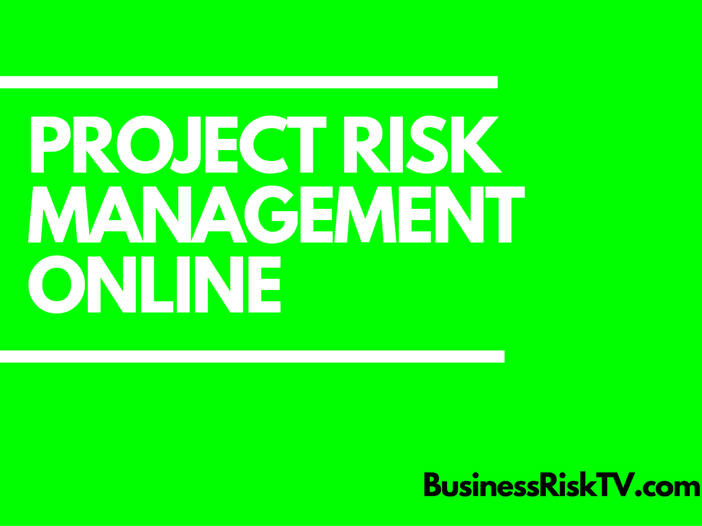 Project Risk Management Tips Advice Support Training