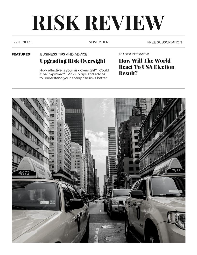 Risk Management Review Magazine