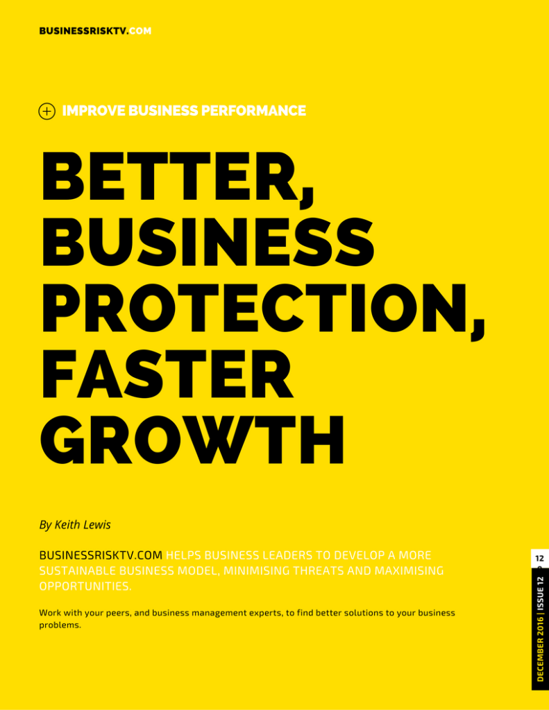 Better Business Protection Faster Business Growth
