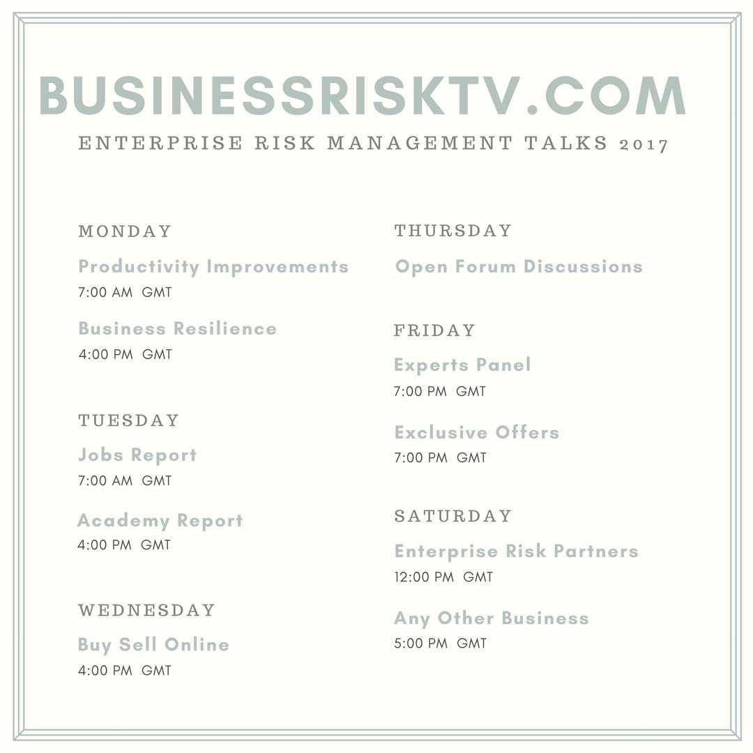 Enterprise Risk Management Workshops