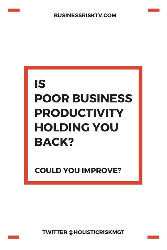is poor business productivity holding you back could you improve