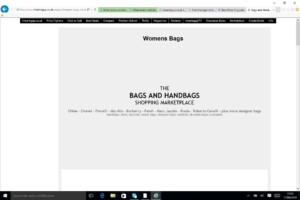 Bags and Handbags Marketplace for cheapest bags and handbags online with BusinessRiskTV.com