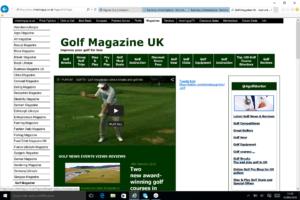 Golf Magazine UK Golf News Articles Reviews Offers BusinessRiskTV.com