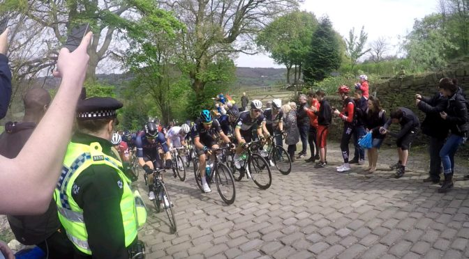 Shibden Wall Tour De Yorkshire 2017 BusinessRiskTV.com