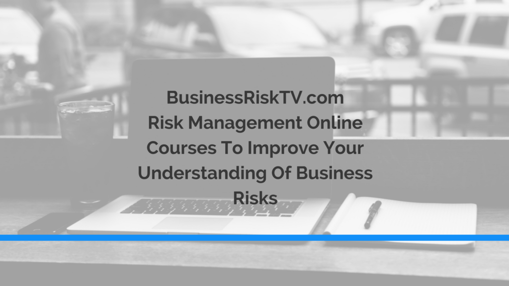 Risk Management Courses Distance Learning