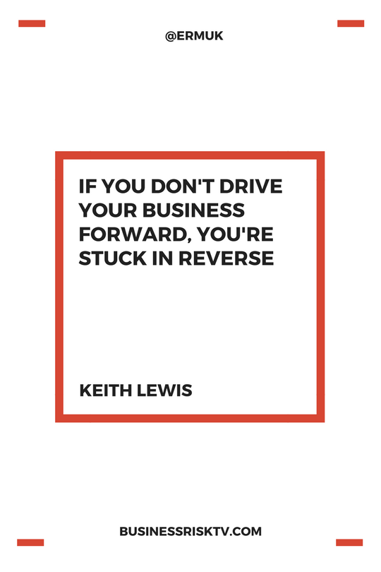 If you don't drive your business forward your set for failure