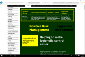 Legionella Risk Management on BusinessRiskTV