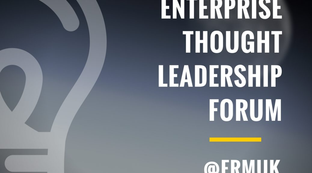 Enterprise Risk Management Thought Leaders