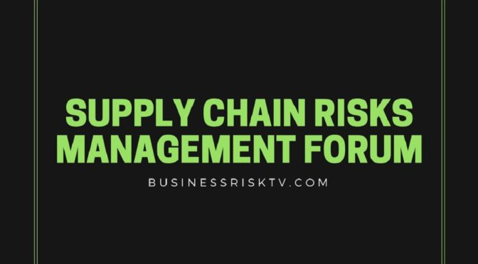 Your guide to supply chain risk management