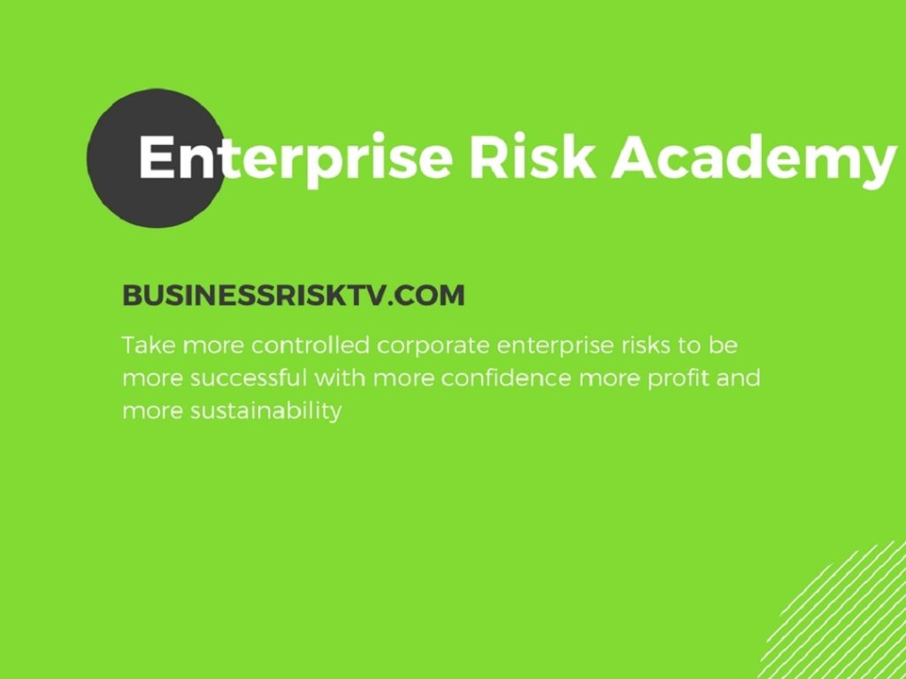 Business corporate enterprise-wide risk academy training and development