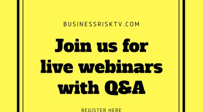 Live Online Risk Management Webinars