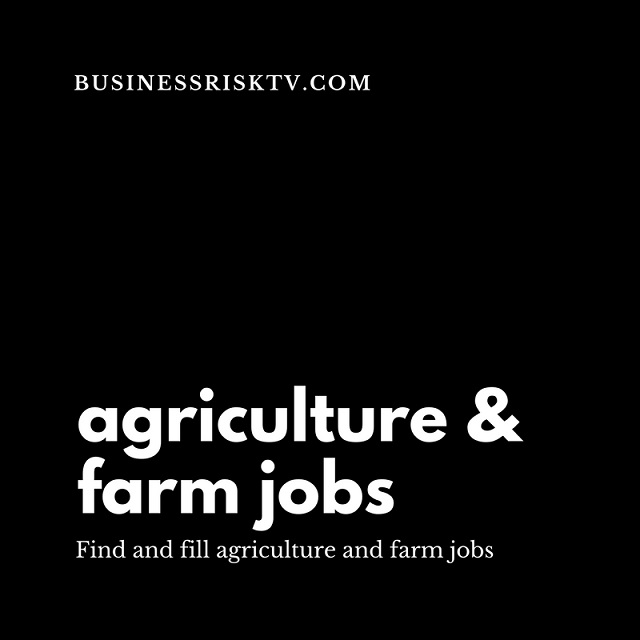 Farmers and Agricultural Job Vacancies
