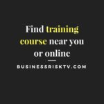 Training courses near you or online