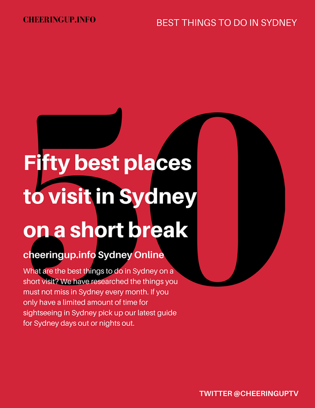 Top 50 Best Things To Do In Sydney