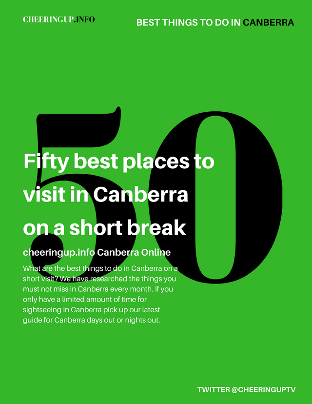 Things to do in Canberra Australia