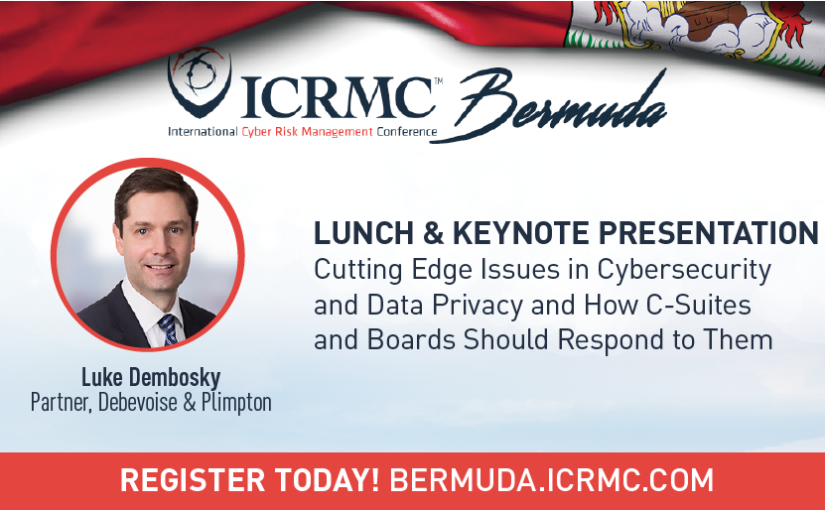 International Cyber Risk Management Conference ICRMC Bermuda December 2018