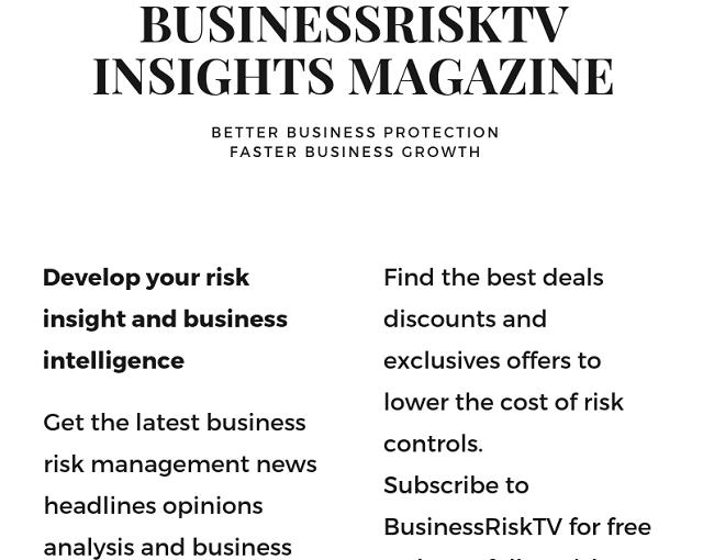 BusinessRiskTV Risk Insights Risk Management Articles