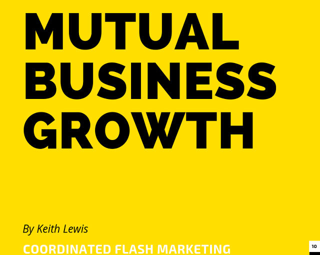 Mutual Business Growth Via Business Collaboration and Partnership