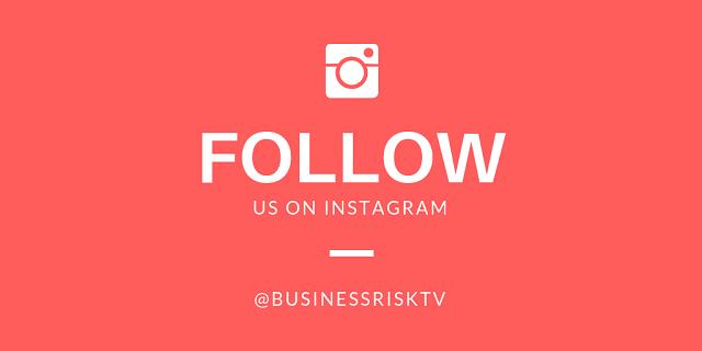 Follow Us On Instagram BusinessRiskTV