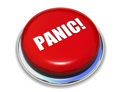 Do not press the panic button