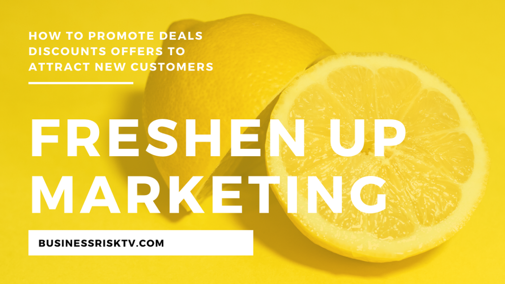 Freshen up your online marketing with deals discounts and special offers