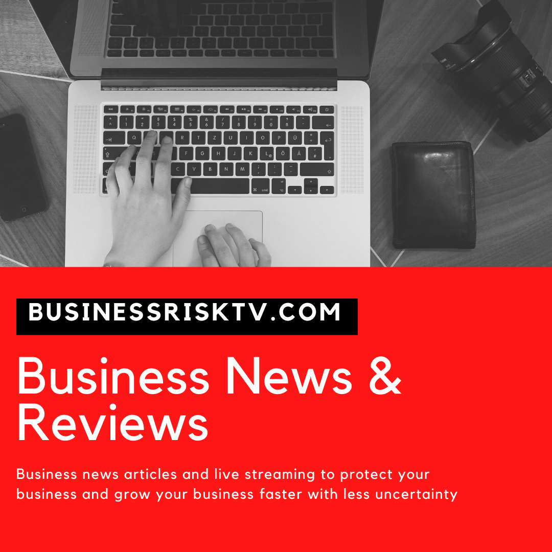 Business news articles and livestreaming reports