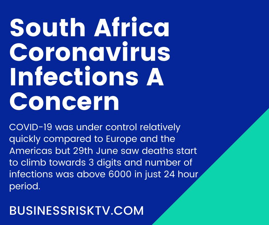 South Africa Coronavirus Update June 2020