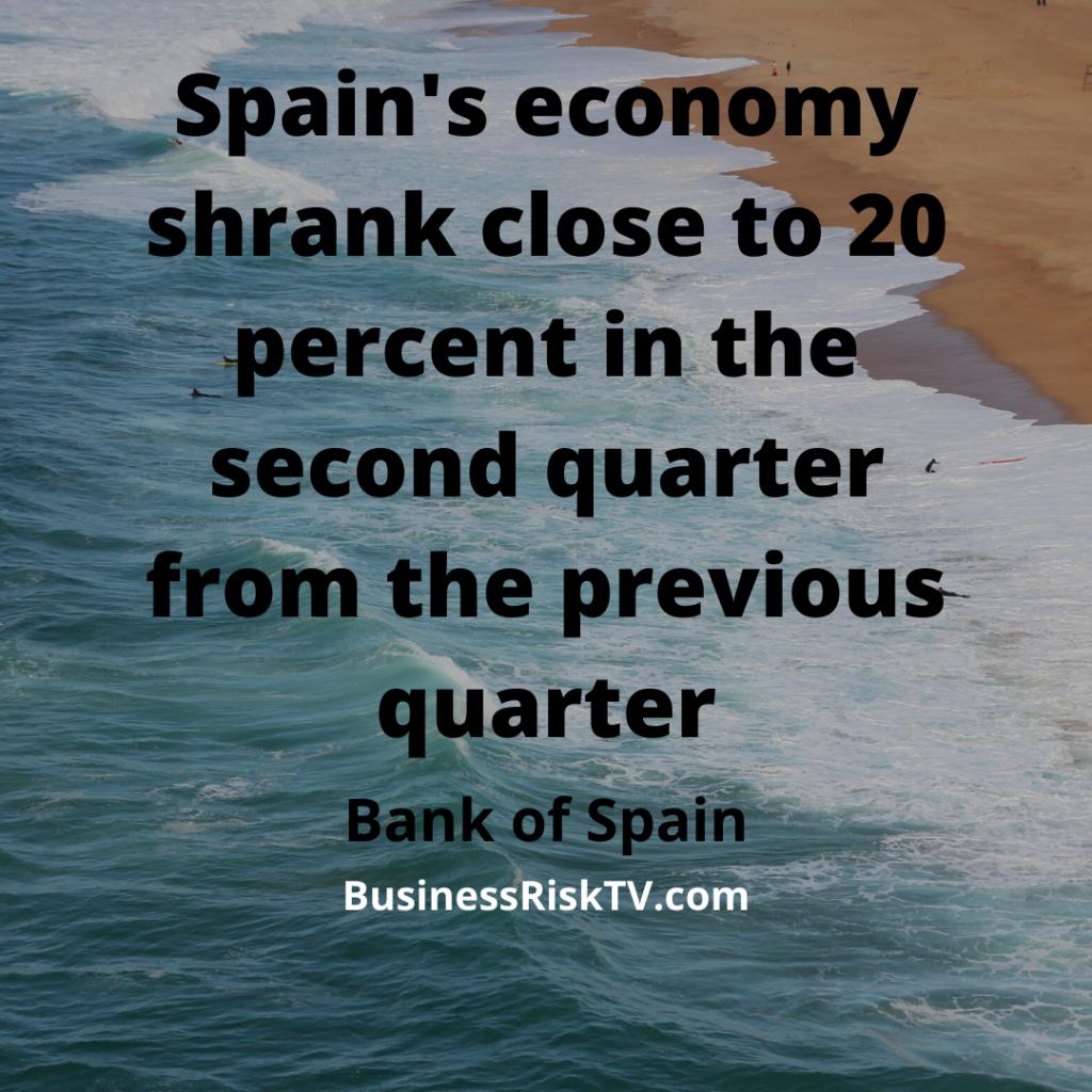 Spains Economic Contraction