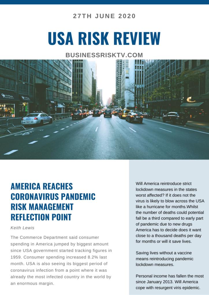 Coronavirus US Reports June 2020