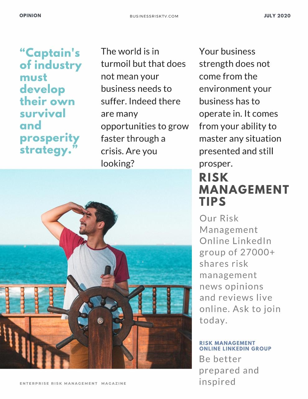 Survival strategies in business