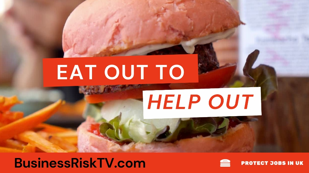 Eat Out Help Out Scheme Running August In UK For Participating Restaurants
