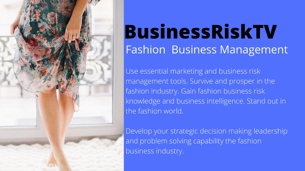 Fashion Industry Business Risk Management Tips Advice and Training