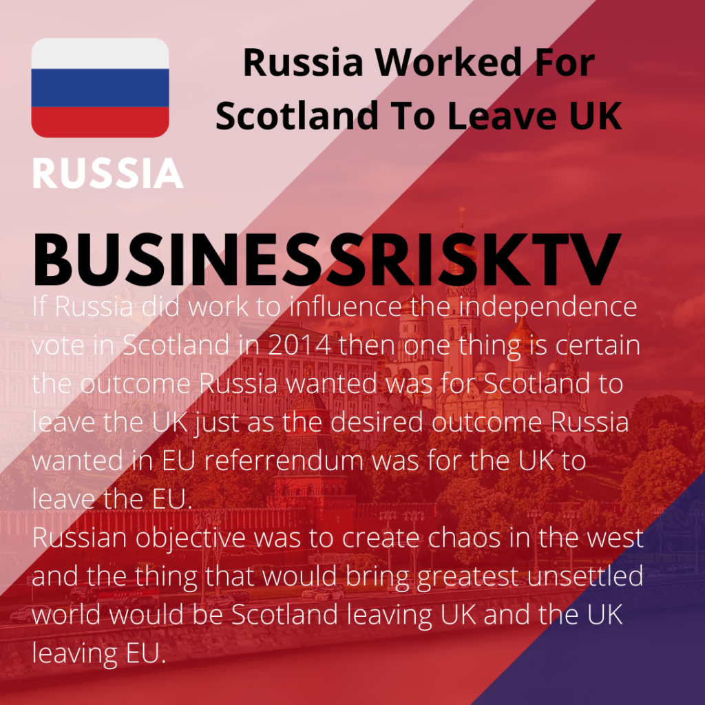 Intelligence and Security Committee report on Russian interference into the 2014 Scottish independence referendum and EU referendum 2016