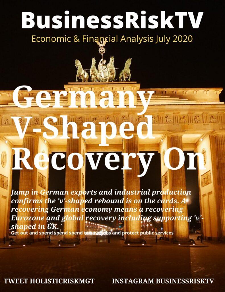 Rapid V-shaped recovery from coronavirus for Germany