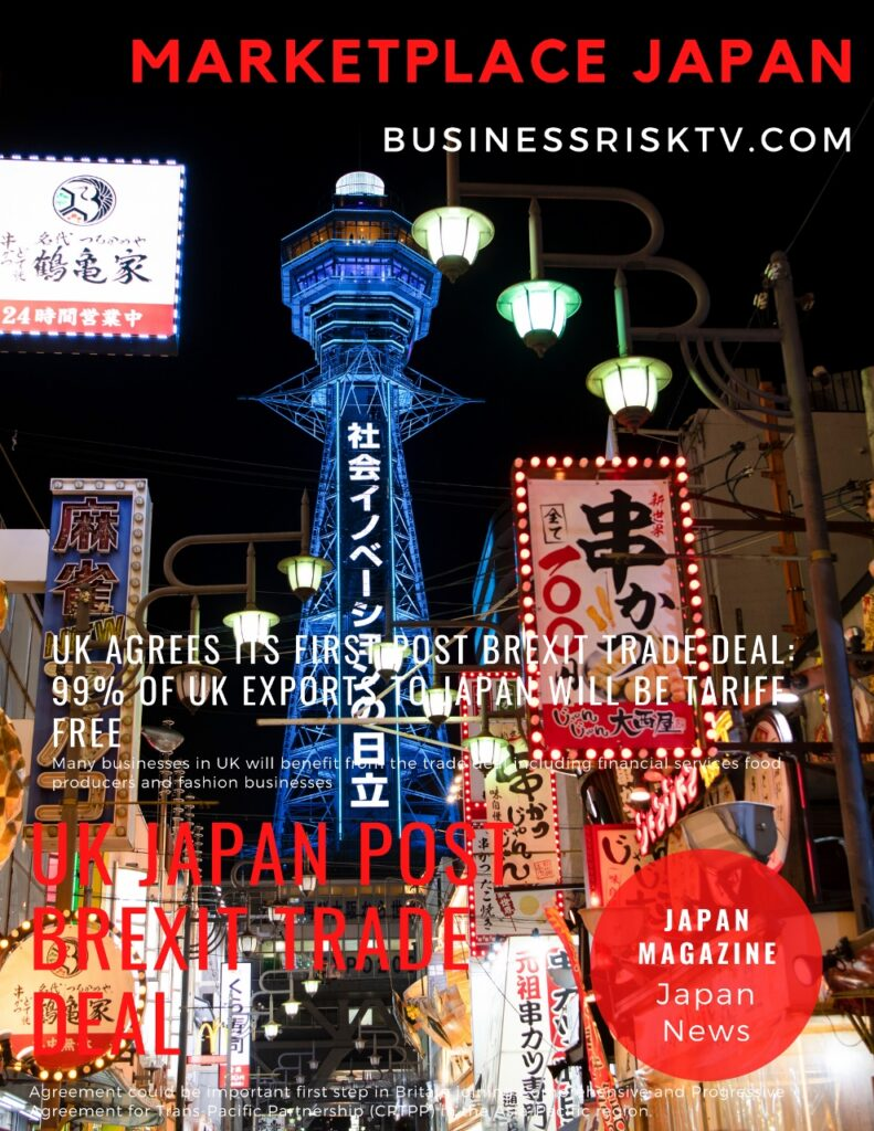 Japan Marketplace Magazine UK and Japan Trade Deal Eliminates Trade Barriers