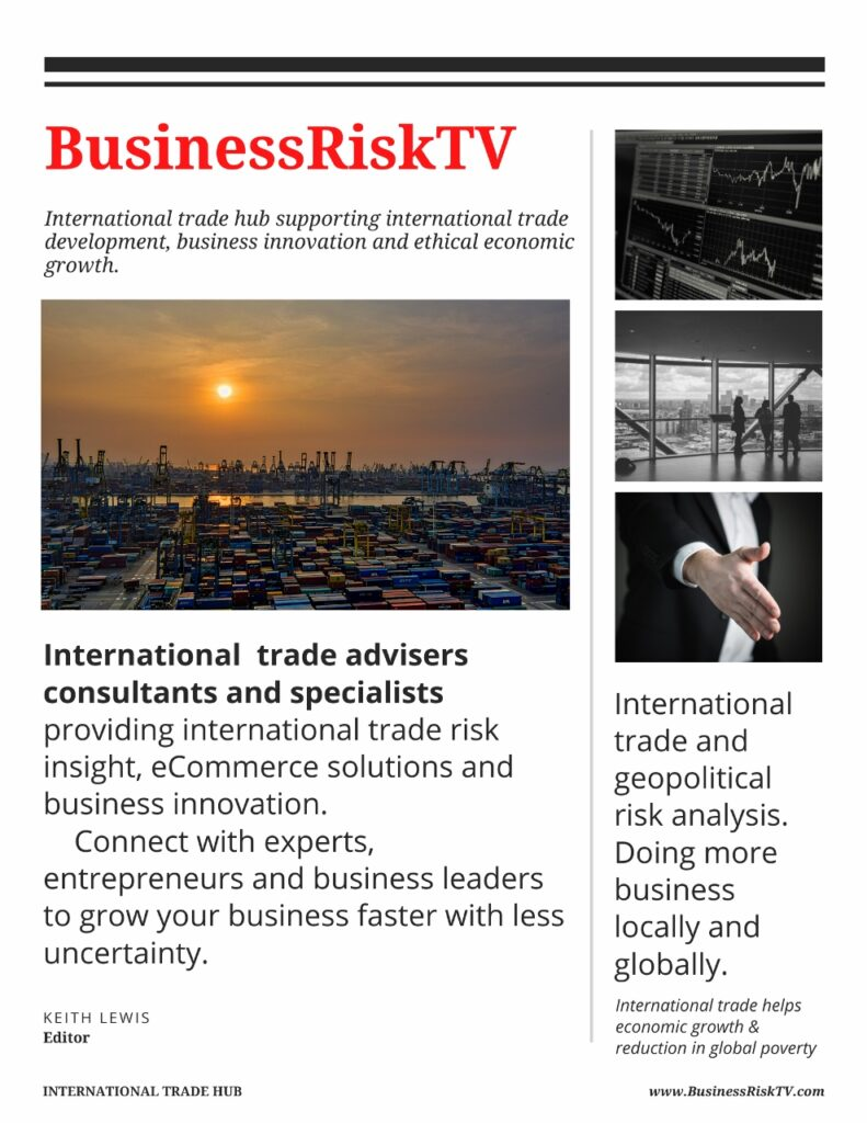 International trade support for businesses that trade internationally