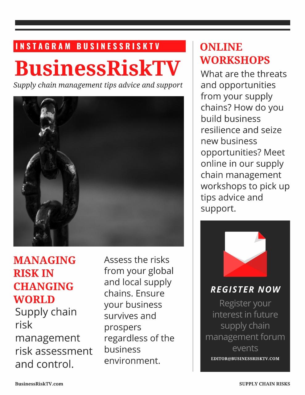 Supply Chain Risk Management UK