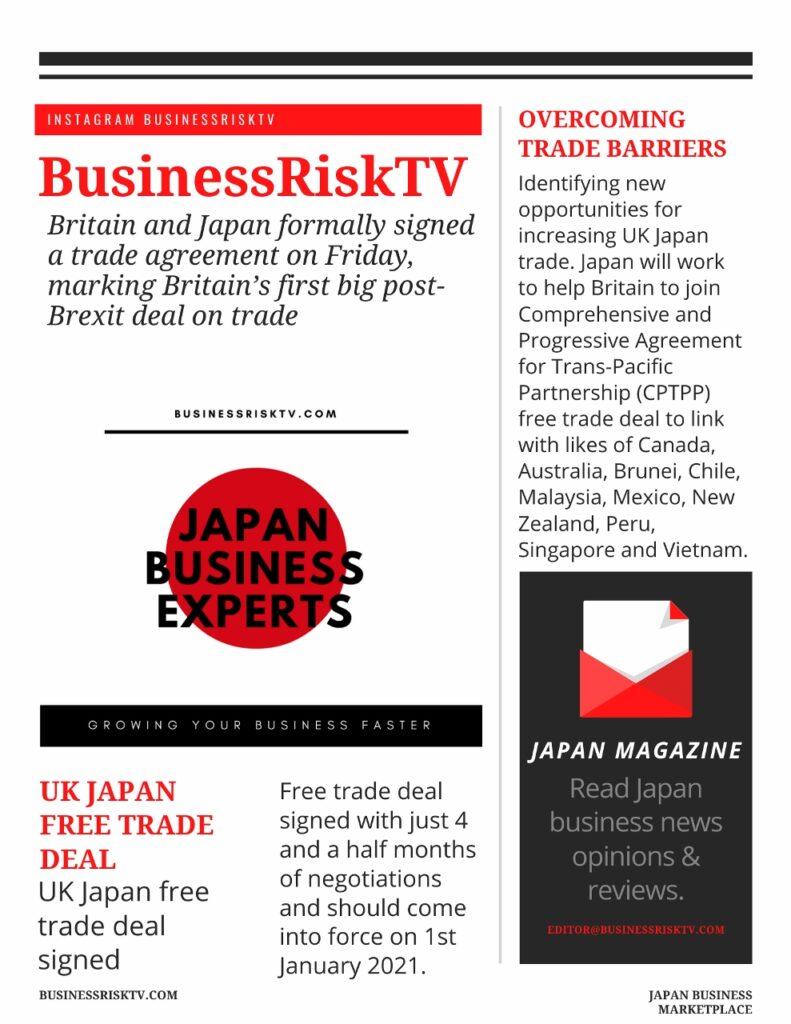 UK Japan free trade deal
