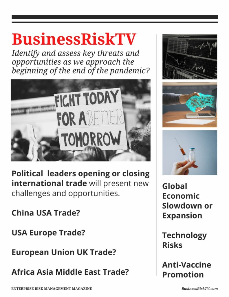 Pandemic Business Recovery Tips Advice and Support From BusinessRiskTV