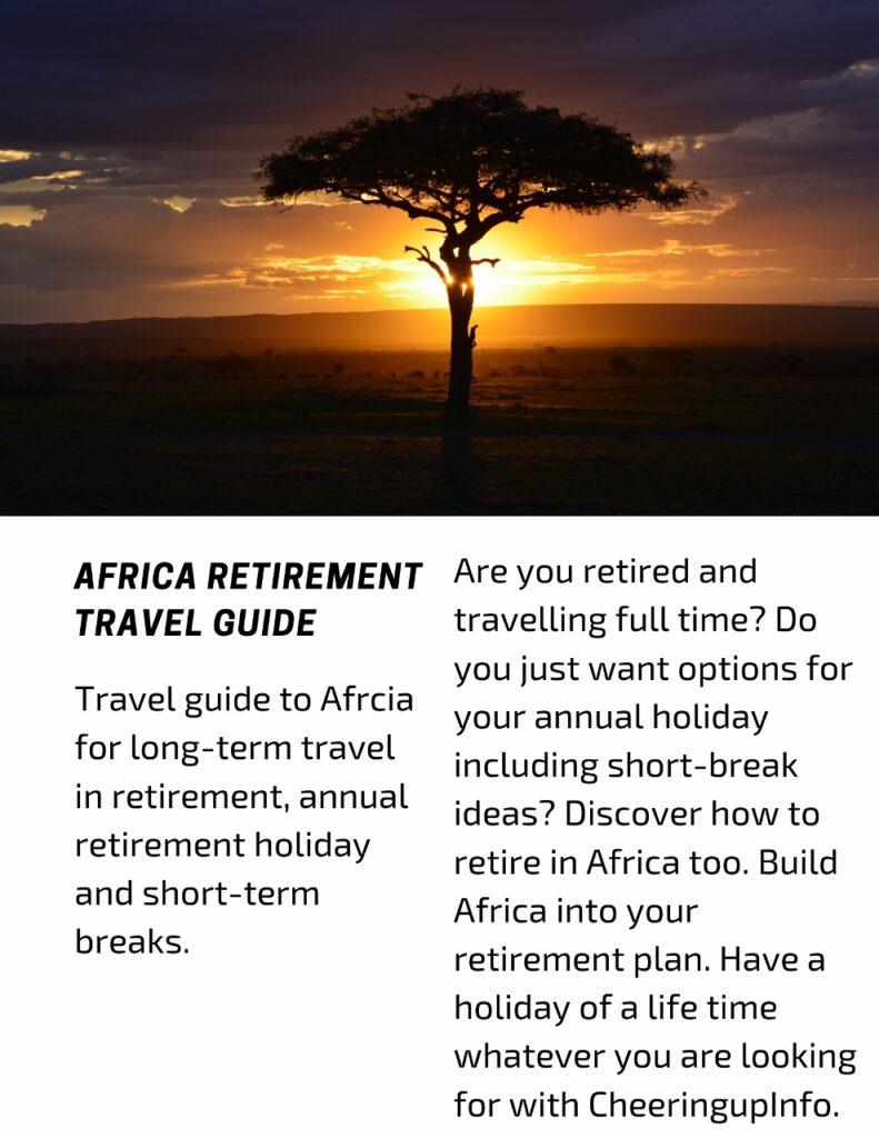 Explore Africa In Retirement