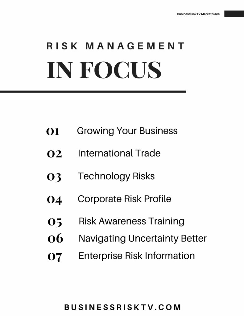 Enterprise Risk Management News Opinions and Reviews