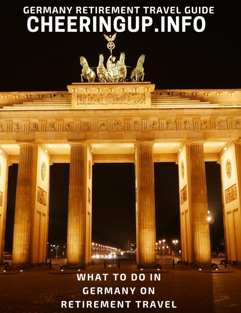 What to do in Germany on retirement travel