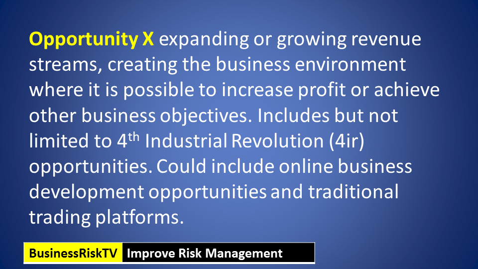 Risks and opportunities register